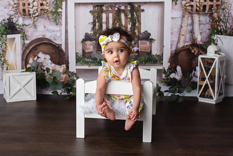 Elaina 9 Month Milestone