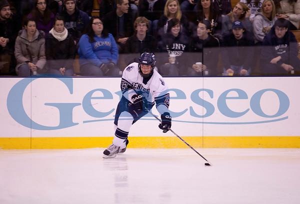Men's Ice Hockey vs Oswego - Blue and White Day