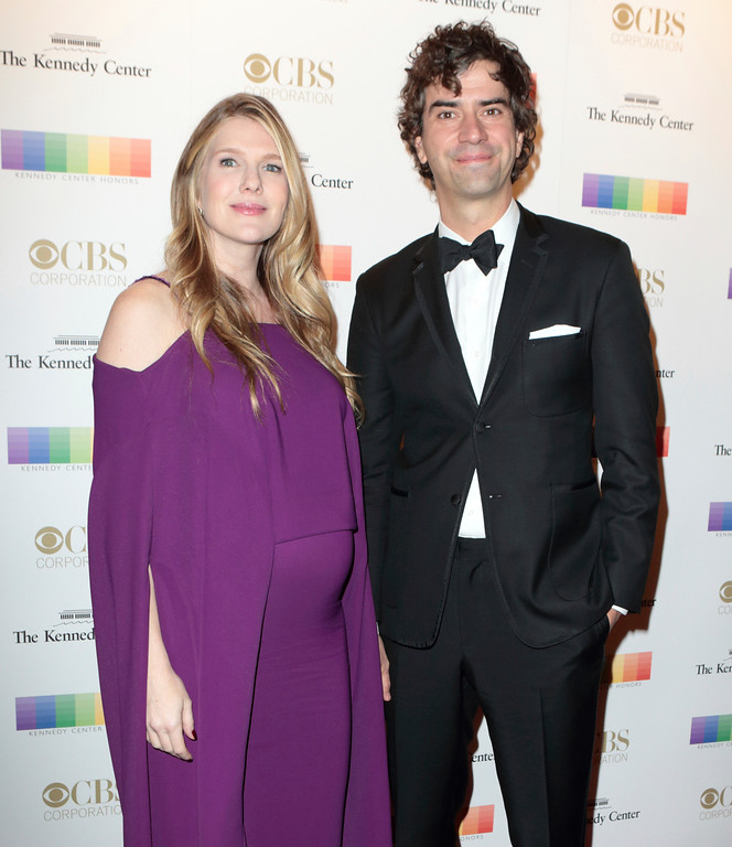 . Lily Rabe, left, and Hamish Linklater attends the 39th Annual Kennedy Center Honors at The John F. Kennedy Center for the Performing Arts on Sunday, Dec. 4, 2016, in Washington, D.C. (Photo by Owen Sweeney/Invision/AP)