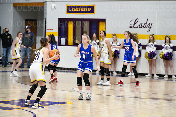 2021 AHS GIRLS BASKETBALL DISTRICTS VS. WISTER