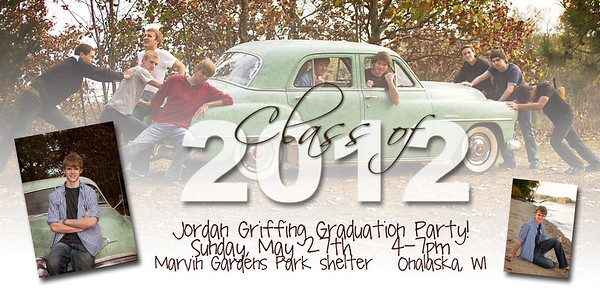 Senior Invites  & holiday cards