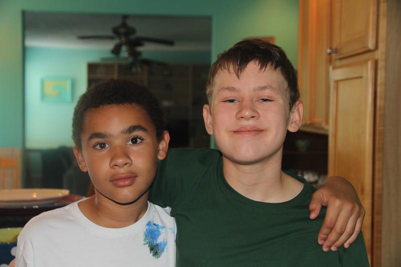 Aaron and his cousin Callen