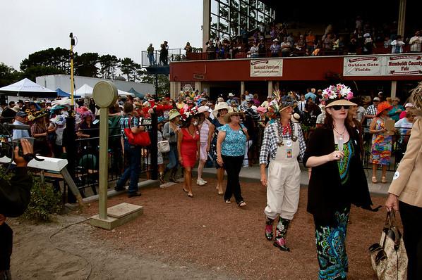 Ladies Hat Day Contest