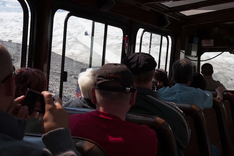 Onto the Glacier