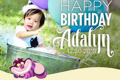 Happy Birthday Adalyn 12/20/15