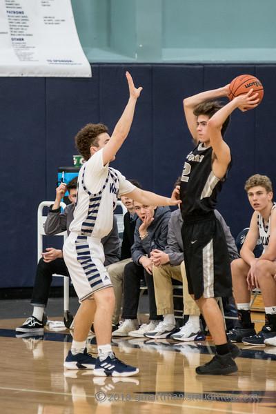 2018-19 Boys Varsity Basketball-WIT Finals vs. Mountain View