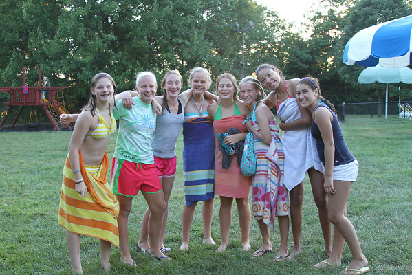 8th Grade Pool Party 2011
