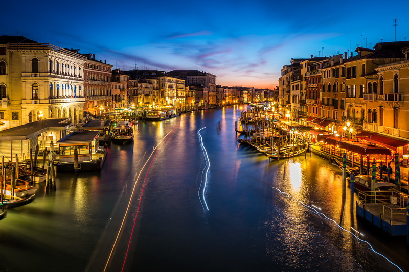 View from Rialto Bridge, Venice