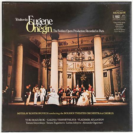 Angel-Melodiya SRCL-415 Tchaikovsky Eugene Onegin