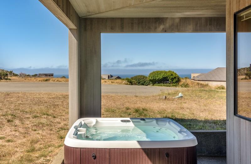 Hot Tub off Guest Room
