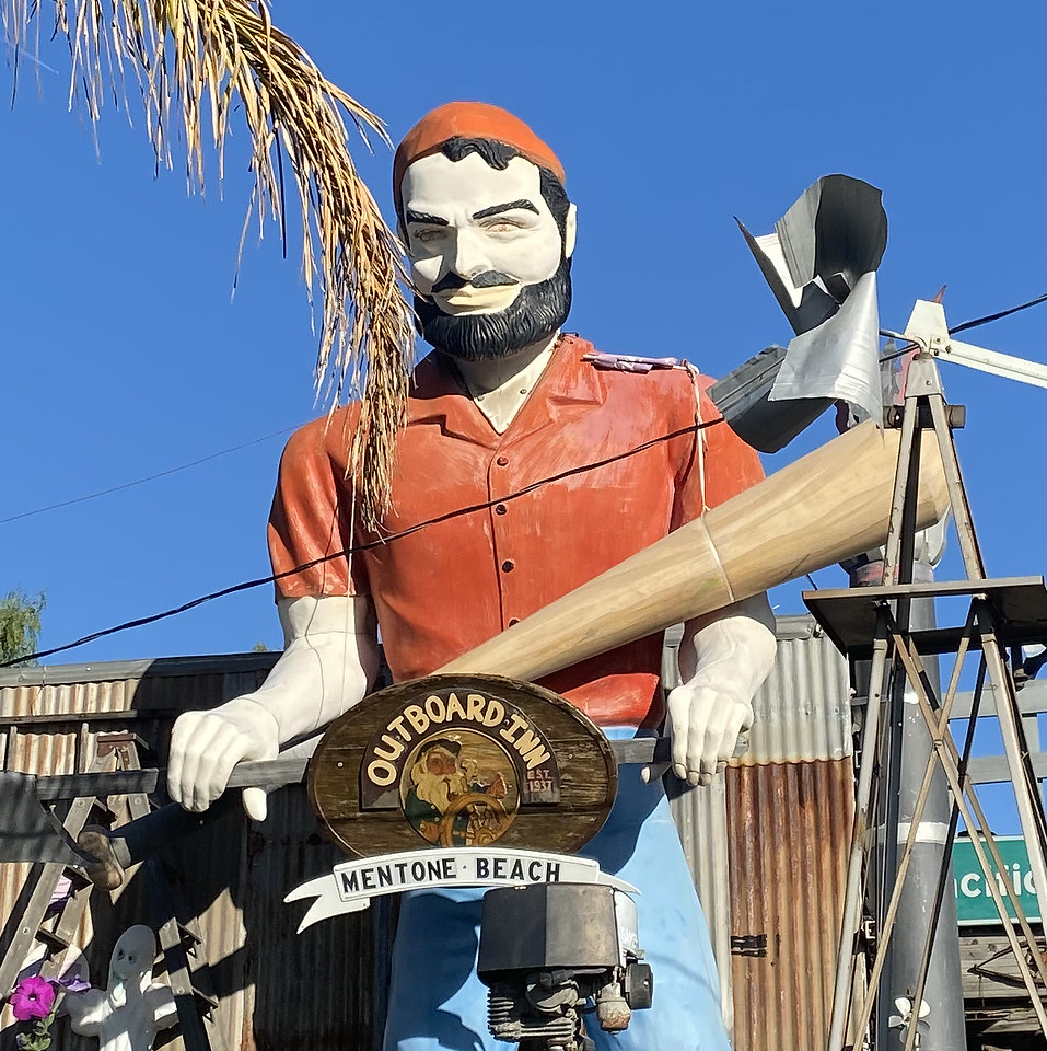 bunyan muffler man of mentone california