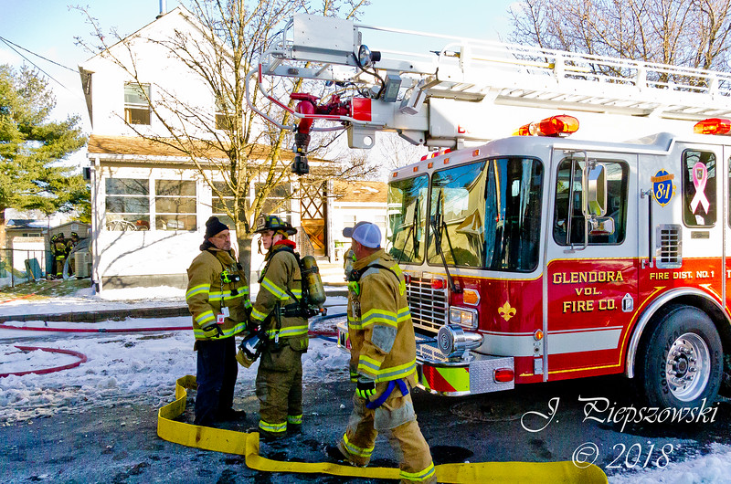 1-6-2018 (Camden County) GLOUCESTER TWP. - 1302 Glendora Ave. - 2nd Alarm Dwelling
