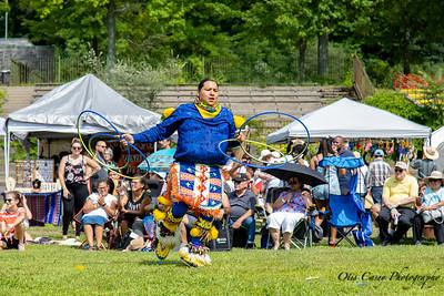 Bear Mountain Pow Wow 2019 Hoop Dancers