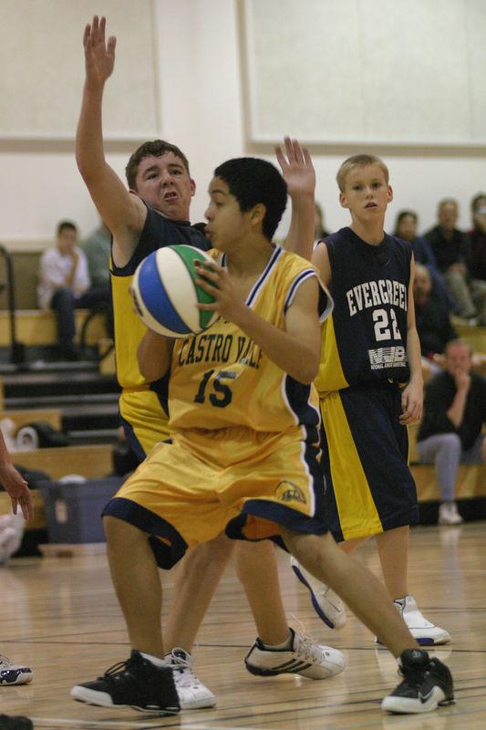NJB 8th Grade All-Net Boys - Castro Valley vs Evergreen