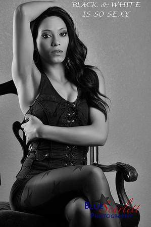 Brianna Black and White