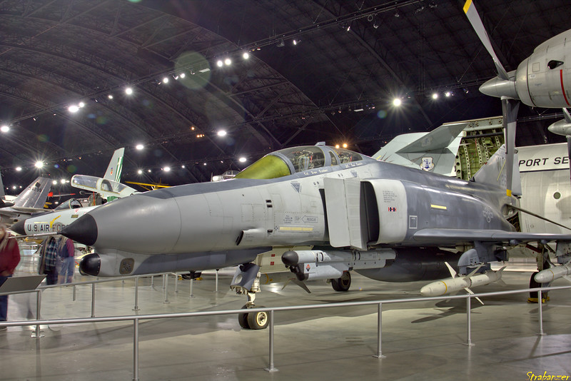National Museum of the United States Air Force, Dayton, Ohio,   04/13/2019  McDonnell Douglas F-4G Phantom II c/n 3947   69-7263  Wild Weasel  This work is licensed under a Creative Commons Attribution- NonCommercial 4.0 International License.