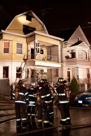 Paterson NJ 2nd alarm+, 979 Madison Ave. 12-28-14