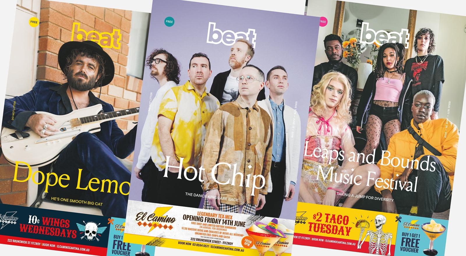 Beat Magazine new look (photo credit: Beat Magazine)