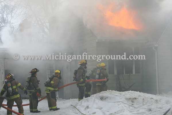3/9/14 - Lansing house fire, 300 E. Miller Rd