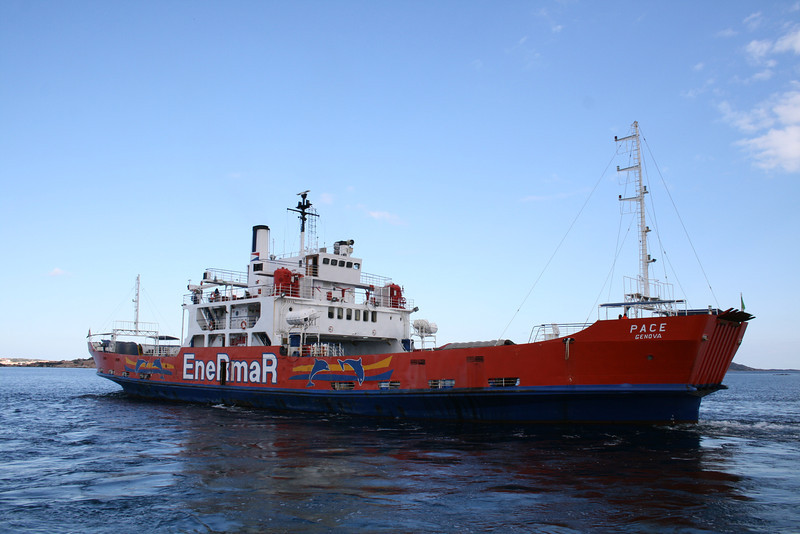 2008 - F/B PACE sailing from Palau to La Maddalena
