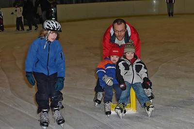 Januar 2008 Schlittschuhlaufen