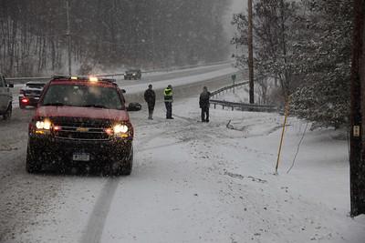 Route 9 Rollover - Feb. 10, 2010