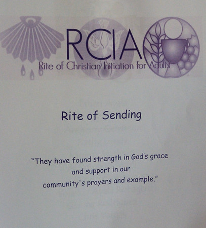 2019 March 10 Rite of Sending Corpus Christi Catholic Church