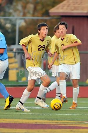 Governor Mifflin vs Daniel Boone Boys High School Soccer 2012 - 2013
