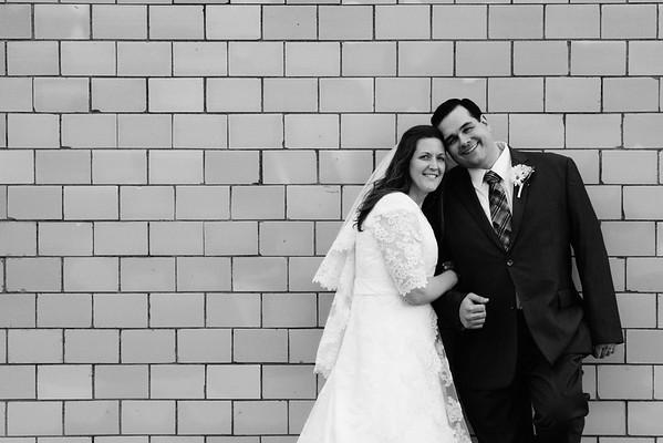 Miriam & Aaron. Married