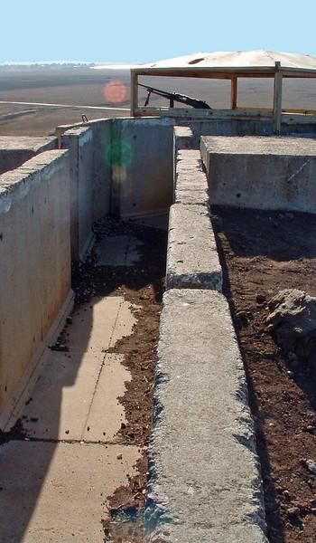 Tel Saki bunker, Golan