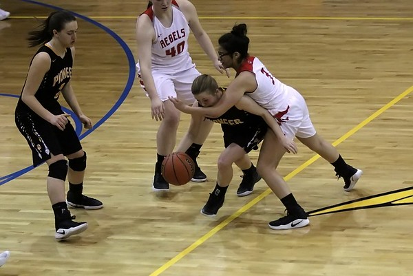 Pioneer vs South Newton  (North White Sectional) 2/1/2017