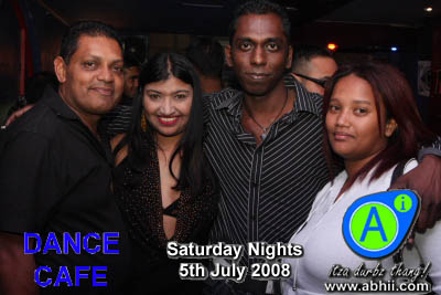 Dance Cafe - 5th July 2008