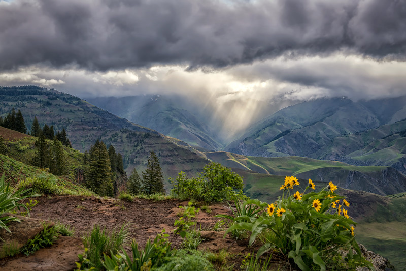 Storm Over Hell's Canyon