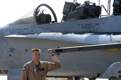 Medal of Honor F/A-18B Dedication