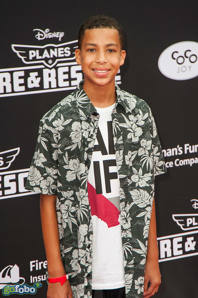 HOLLYWOOD, CA - JULY 15: Actor Marcus Scribner attends the premiere of Disney's 'Planes: Fire & Rescue' at the El Capitan Theatre on Tuesday July 15, 2014 in Hollywood, California. (Photo by Tom Sorensen/Moovieboy Pictures)