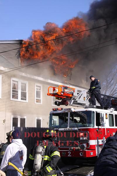 Lynn, MA - 3rd Alarm, 57 Murray Street, 1-22-13