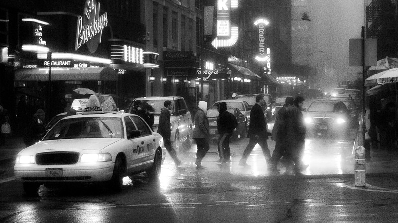 Broadway in the Rain