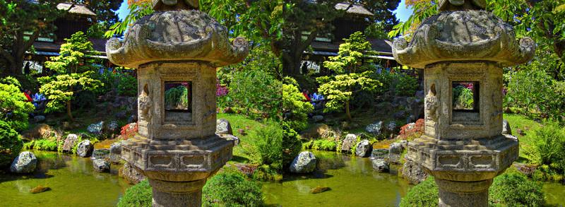 Japanese Tea Garden - in 3D