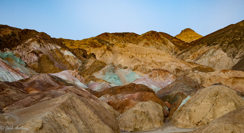 Artist Pallet in Death Valley