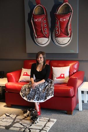 Red Shoe Fun   4/7/2015