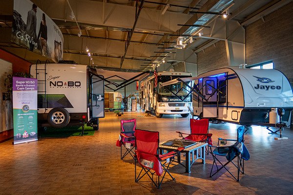 RV/MH Hall of Fame Museum Go Rving Hall