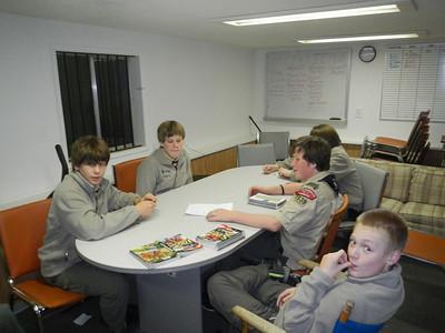 Troop Meeting - Oct 21, 2013