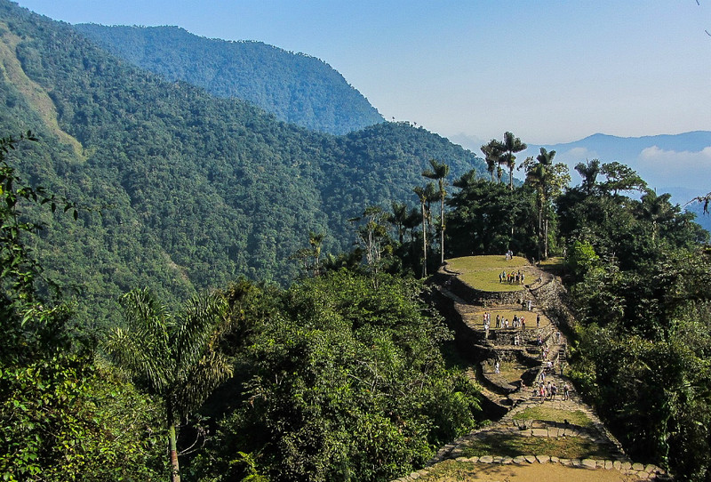 South America Aventure Lost City Colombia