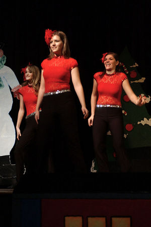 Armstrong School of Dance Recital - High School - Dec. 8, '05