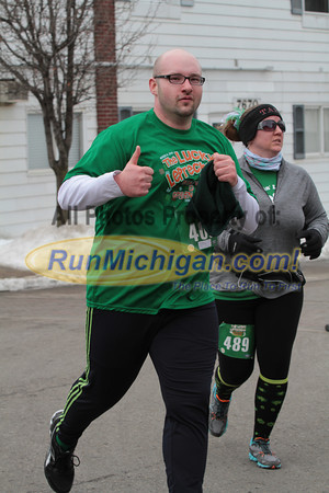 5K at 2.1 mile & 1M at 0.85 mile - 2014 The Lucky Leprechaun