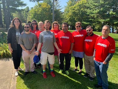 Unified Bocce with the NYS Business Council