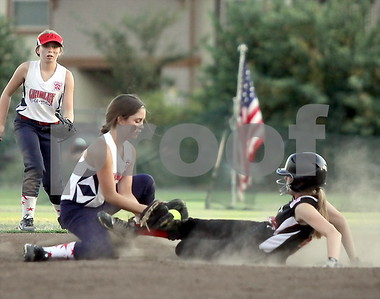 Gridley 11-12 SB vs. Chico Black 11-12 SB  6/26/2015