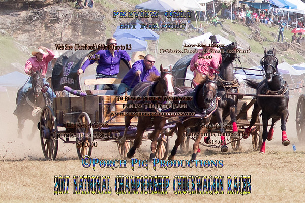 2017 Sunday National  Championship Chuckwagon Races
