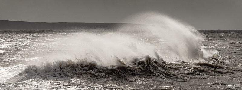 A breezy day in Porthcawl & Nash Point