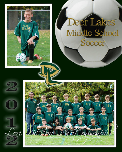 D.L. Middle School Soccer